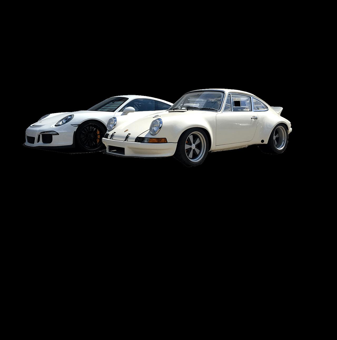 To Porsche modeller